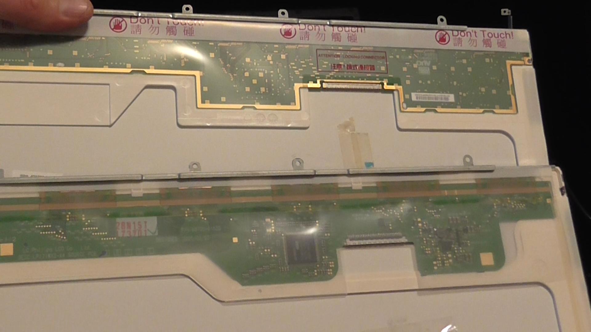 monitor LCD compatibili