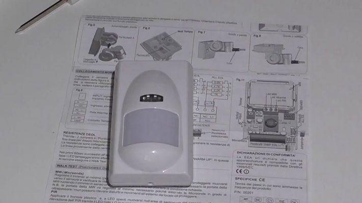 Funzione ECO del Sensore volumetrico (parte 1)
