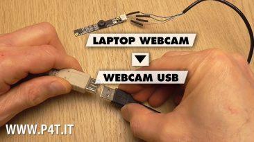 Come trasformare la webcam di un portatile in una webcam USB